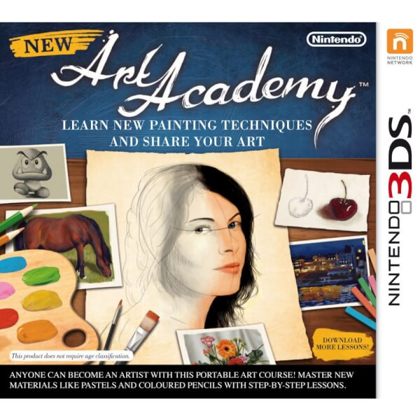 New Art Academy: Learn New Painting Techniques and Share Your Art