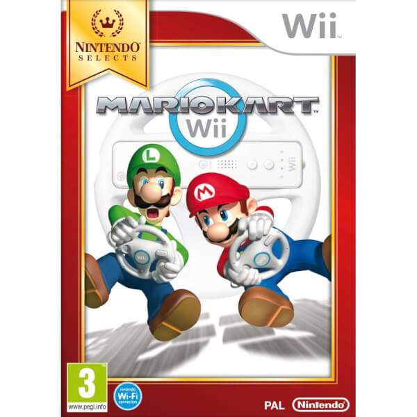 Wii Nintendo Selects Mario Kart Wii (without Wii Wheel)