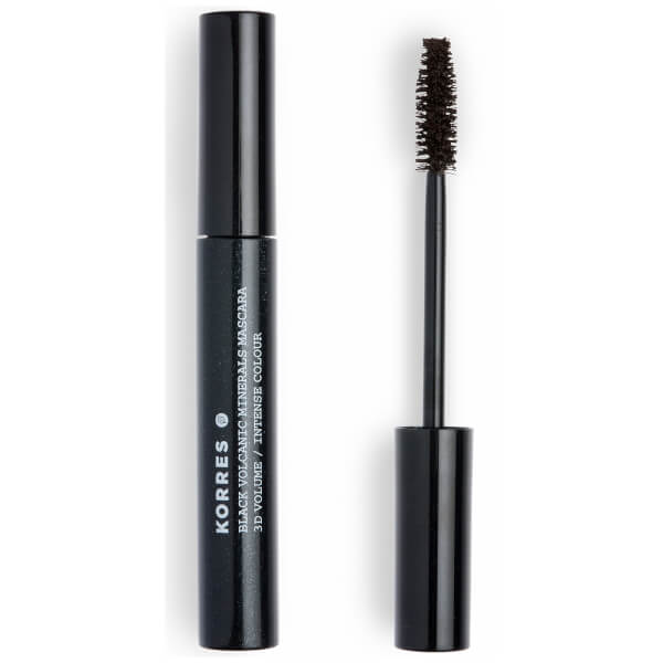 KORRES Natural Black Volcanic Minerals 3D Volume Mascara - Brown