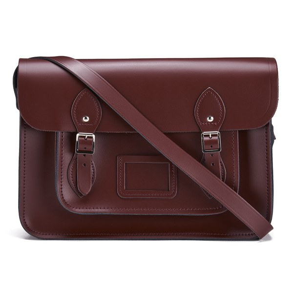 The Cambridge Satchel Company 14 Inch Classic Leather Satchel - Oxblood