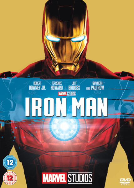 Iron Man Dvd Zavvi