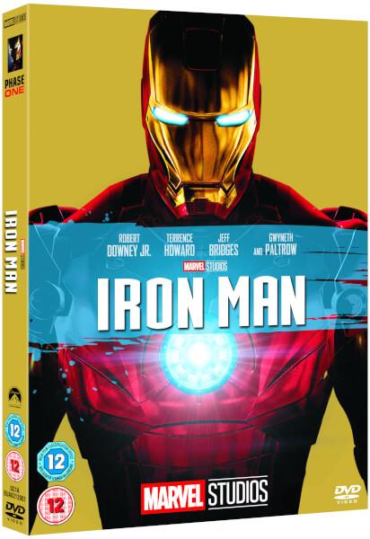 Iron Man Dvd Zavvi