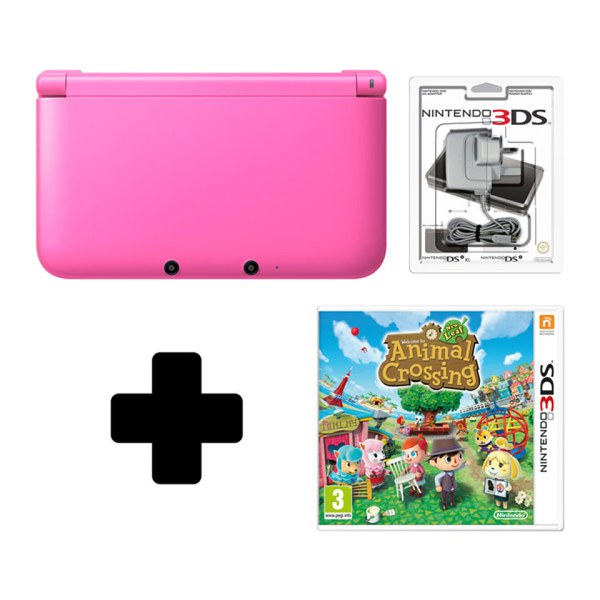 Nintendo 3ds xl pink console animal crossing new leaf - Animal crossing new leaf consoles ...