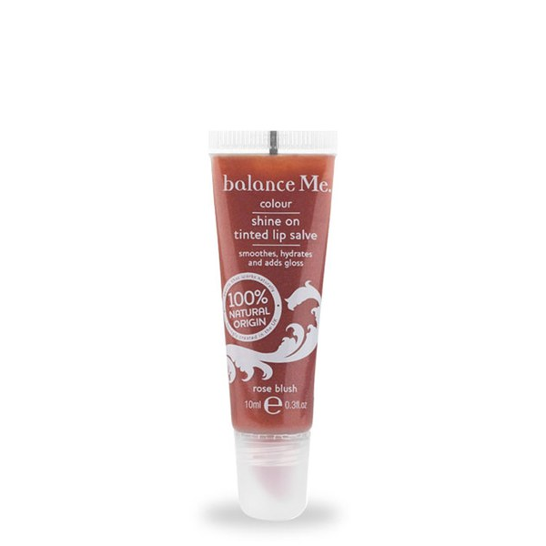 Balance Me Shine On Tinted Lip Salve Rose Blush