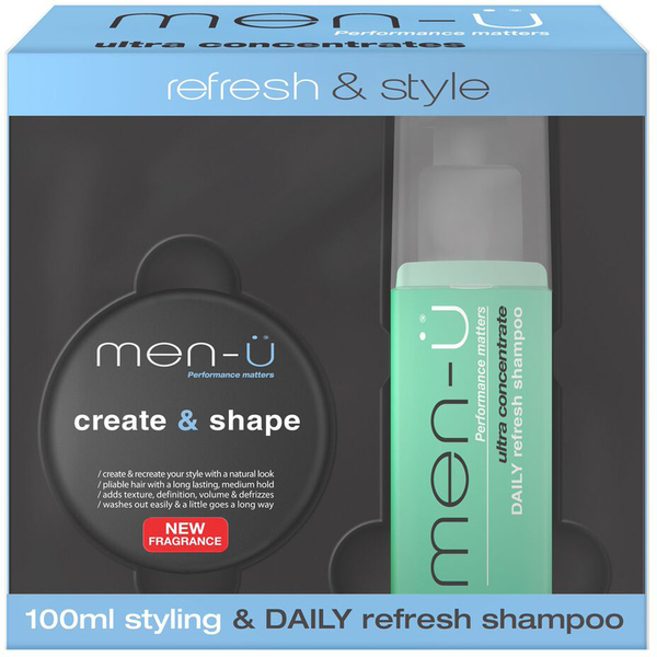 men-ü Create and Shape Refresh and Style Pack