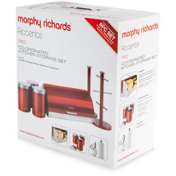 Morphy Richards Kitchen Set: Morphy Richards 974100 6 Piece Storage Set