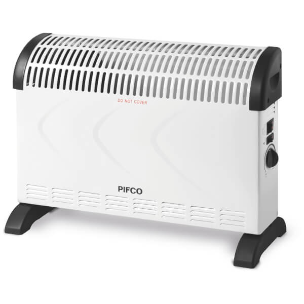 Pifco pe108 convection heater white 2000w homeware for Convector mural