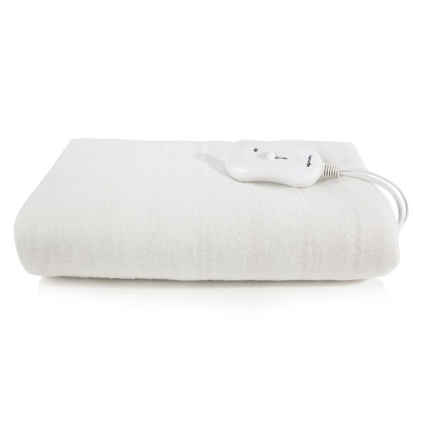 Warmnite WN48003 Heated Electric Blanket - White - Double