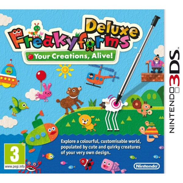 Freaky Forms Deluxe: Your Creations, Alive! - Digital Download