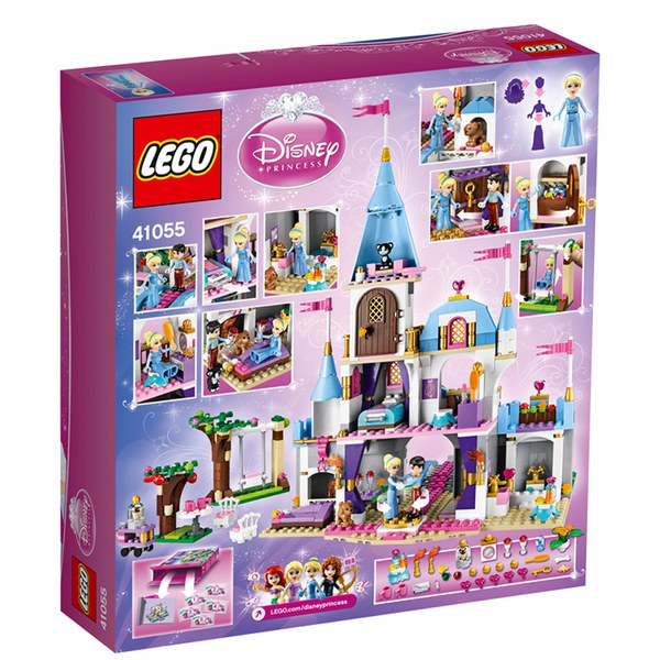 Lego Disney Princess Cinderella S Romantic Castle 41055