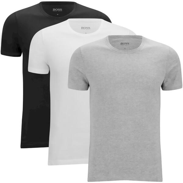 BOSS Hugo Boss Men's Three Pack T -Shirts - Assorted