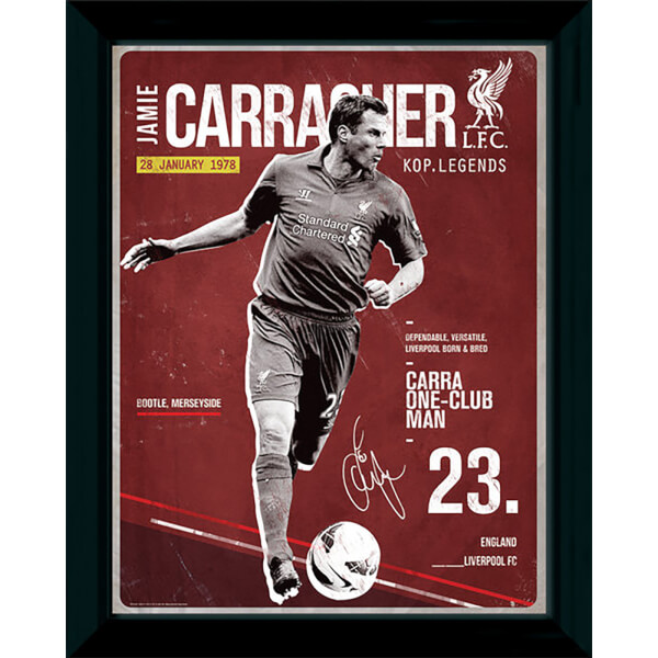 Liverpool Carragher Retro - 16