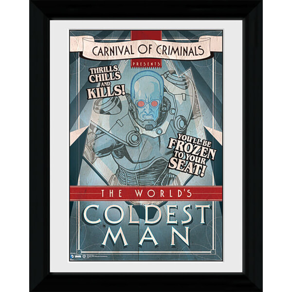 Batman Circus Coldest Man - 30 x 40cm Collector Prints