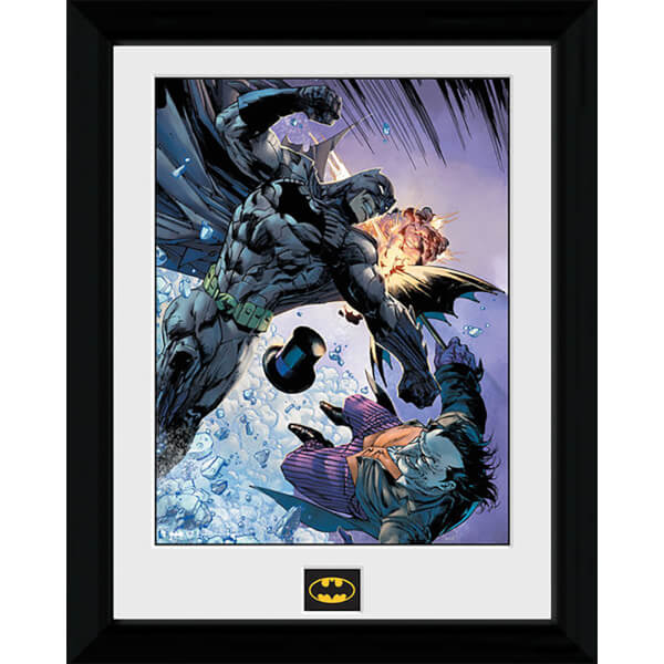 Batman Fist Fight - 30 x 40cm Collector Prints
