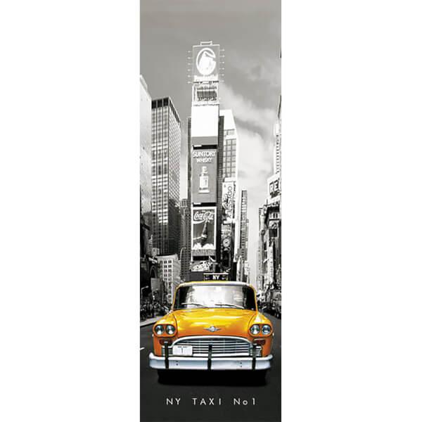 New York Taxi No 1 - Door Poster - 53 x 158cm