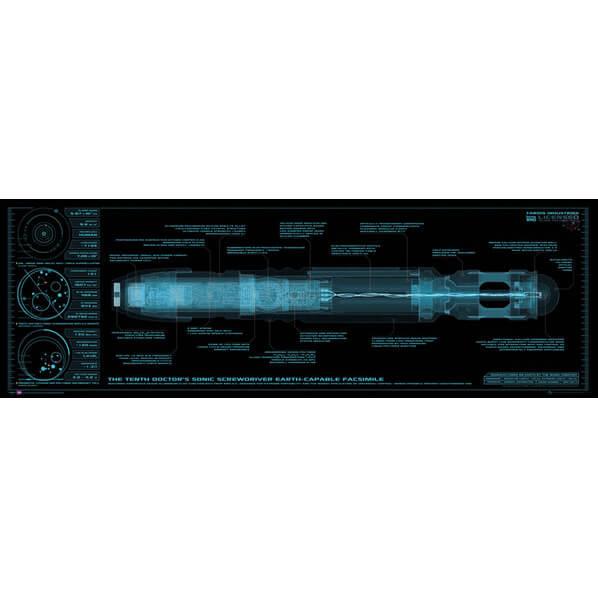 Doctor Who Sonic Screwdriver - Midi Poster - 30.5cm x 91.5cm