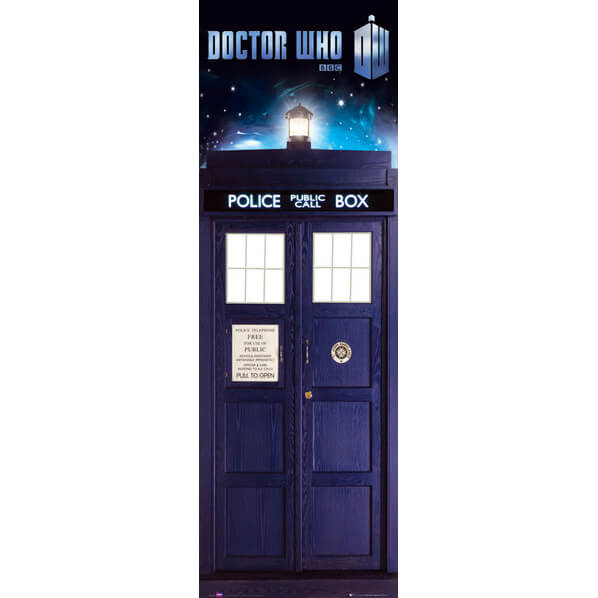 Doctor Who Tardis - Midi Poster - 30.5cm x 91.5cm