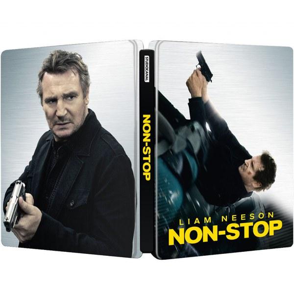 Non Stop Steelbook Edition Blu Ray Zavvi