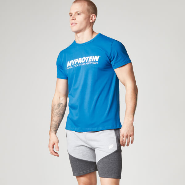 myprotein men 39 s t shirt blue. Black Bedroom Furniture Sets. Home Design Ideas