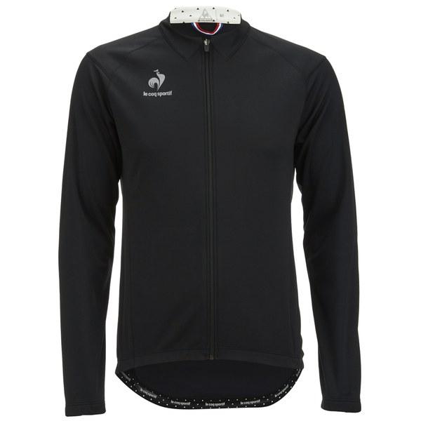 le coq sportif men 39 s cycling performance forman jk softshell jacket black. Black Bedroom Furniture Sets. Home Design Ideas