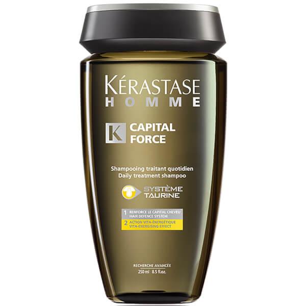 Kerastase Shampooing traitant quotidien Homme Capital Force Action Vita Energetique (250ml)