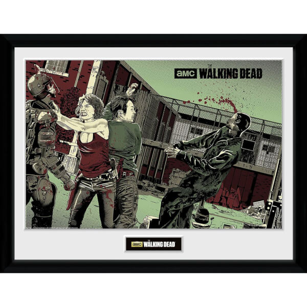 The Walking Dead Maggie Glen - 30 x 40cm Collector Print