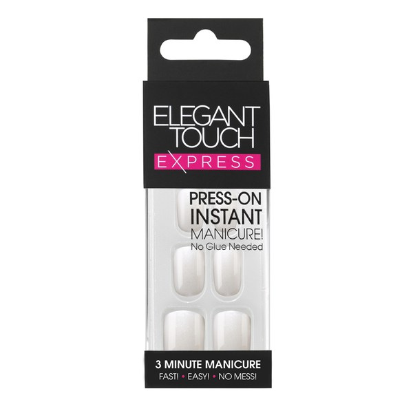 Elegant Touch Express - Polished Pearl White