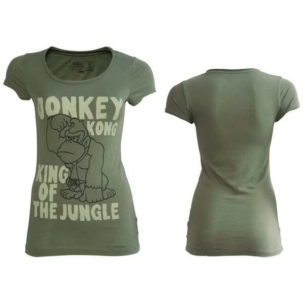 Donkey Kong - T-Shirt Girls' (Grey)