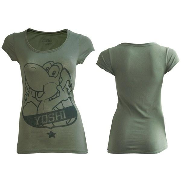 Yoshi - T-Shirt Women's (Grey)