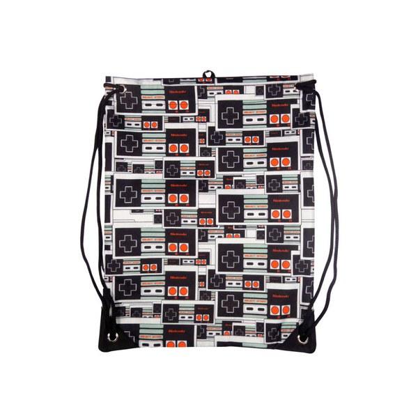 NES Controller - Gym Bag (Black)