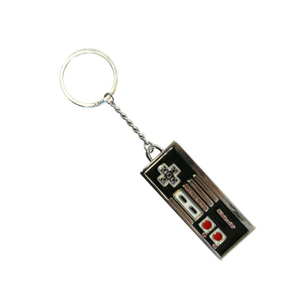 NES Controller - Metal Keychain