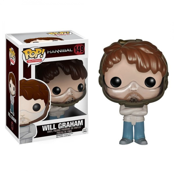 Hannibal Will Graham Straight Jacket Pop Vinyl Figure