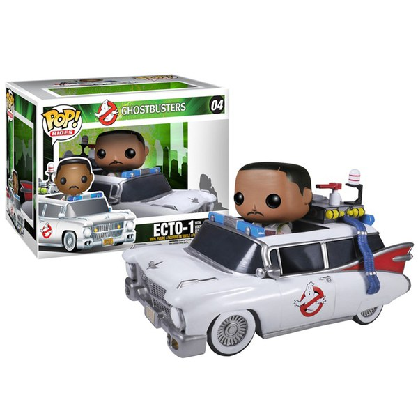 Ghostbusters Zeddemore with Ectowagon Pop! Vinyl Figure