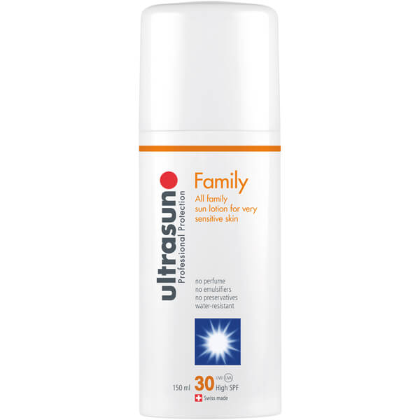 Ultrasun Family SPF 30 - Super Sensitive (150ml) and Ultrasun Aftersun