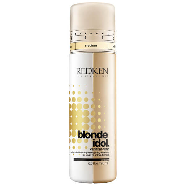 Redken Blonde Idol Custom-Tone Gold Conditioner (196ml)