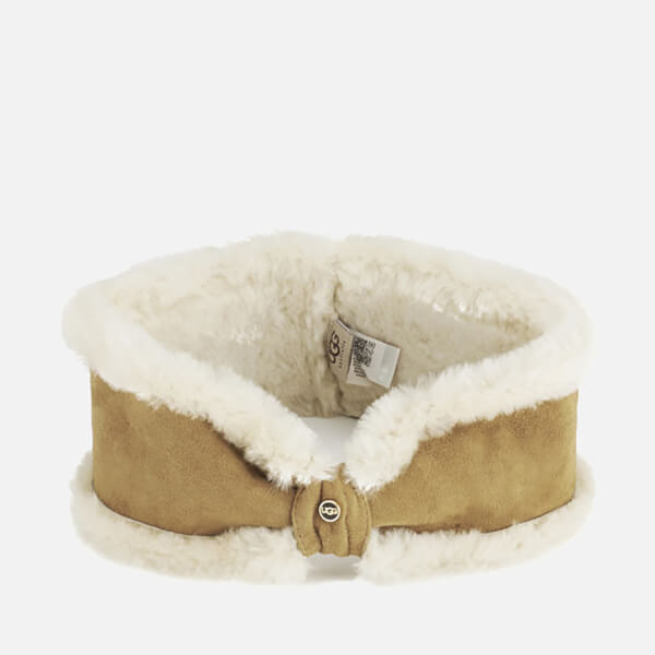 UGG Women's Carter Bow Headband - Chestnut