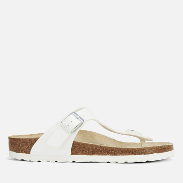 Birkenstock Women's Gizeh Toe-Post Sandals - White