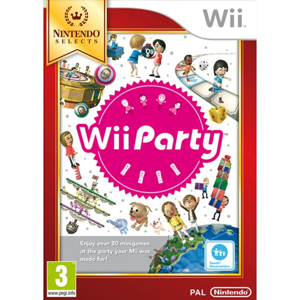 Wii Nintendo Selects Party