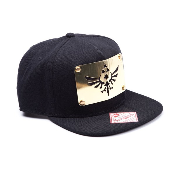 The Legend of Zelda - Golden Metal Plate - Snap Back Cap