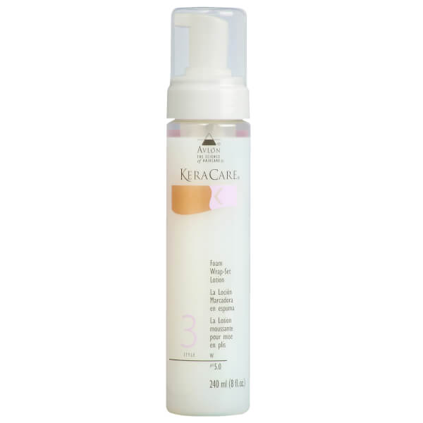 KeraCare Foam Wrap Setting Lotion (8oz)