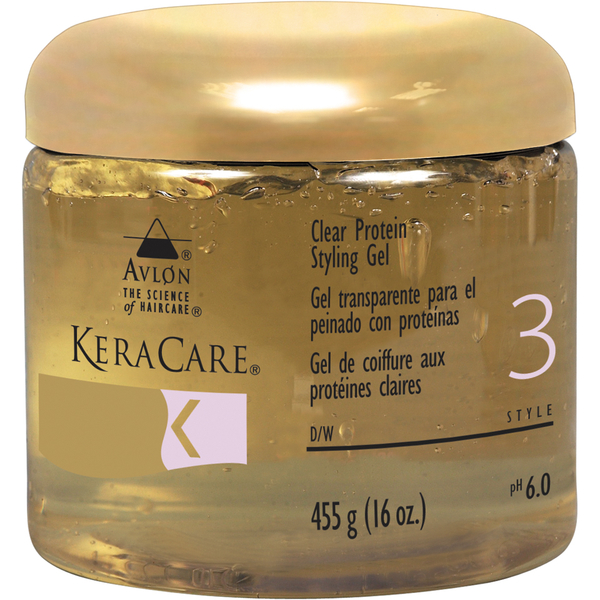 KeraCare Protein Styling Gel (Clear) (440 ml)