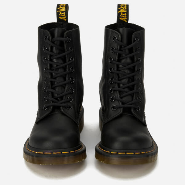 b123c3ad74b1 Dr. Martens Women s 1460 Pascal Virginia Leather 8-Eye Boots - Black  Image