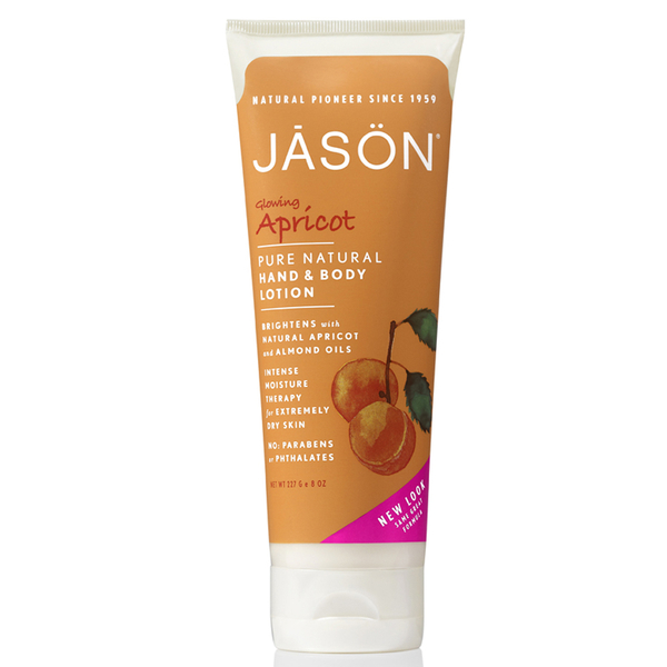 JASON Organic Apricot Hand and Body Lotion (8.8 oz)