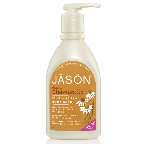 JASON Relaxing Chamomile Satin Body Wash Pump (30oz)