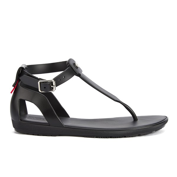 Womens Sandals Hunter Original T Bar Sandal Black