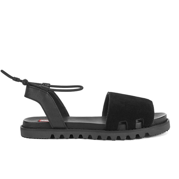 Hunter Women's Original Slide Sandals - Black/Dark Slate