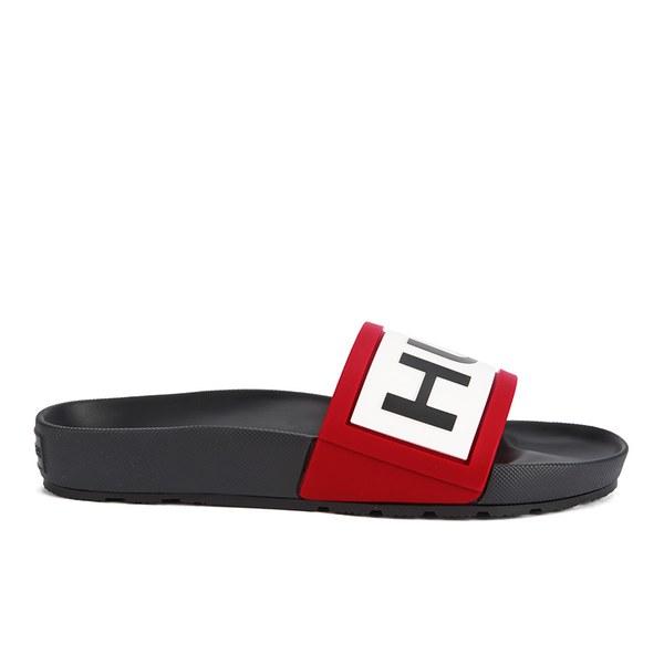 885b317c21ad3 Hunter Men s Slide Sandals - Black  Image 1