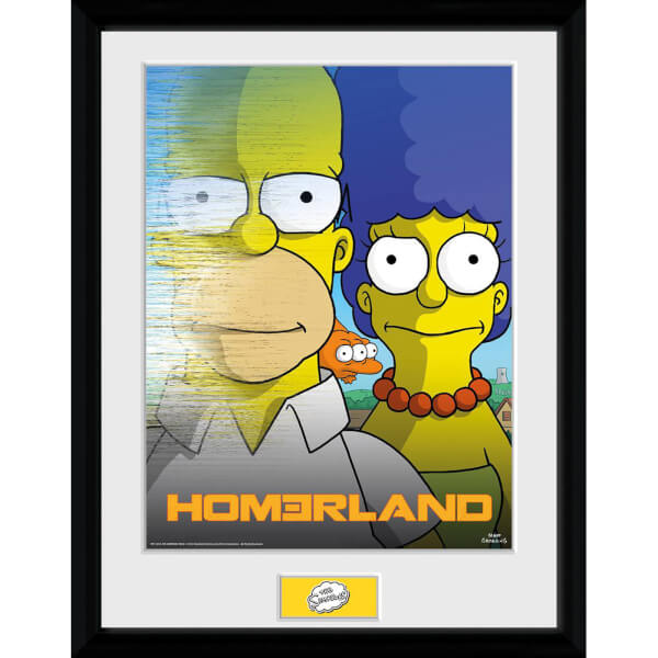 The Simpsons Homerland - 30x40 Collector Prints