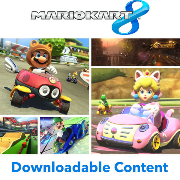Mario Kart 8 - AOC Packs 1 + 2 Bundle - Digital Download DO NOT USE