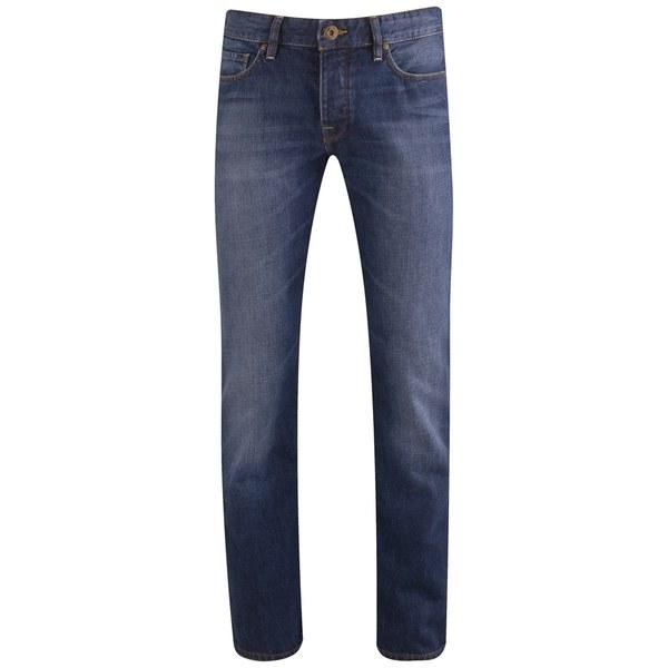 boss orange men 39 s straight leg denim jeans 428 blue mens. Black Bedroom Furniture Sets. Home Design Ideas